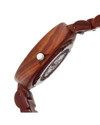 Earth Wood - Brown Stomates Bracelet Watch - Lyst