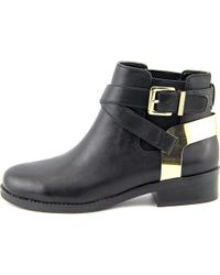BCBGeneration - Black Krew Women Round Toe Leather Ankle Boot - Lyst