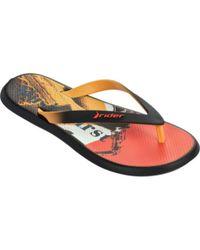 Rider - Black Men's R1 Energy Vi Thong Sandal for Men - Lyst