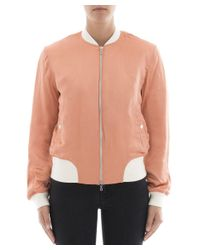 Rag & Bone - Women's Orange Viscose Outerwear Jacket - Lyst