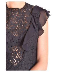 Philosophy - Women's Black Cotton Dress - Lyst