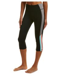 Trina Turk | Black Reaction Colorblock High-waist Legging | Lyst