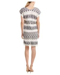 Velvet - White By Graham & Spencer Yandel Shift Dress - Lyst