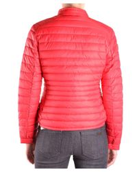 Save The Duck - Women's Red Polyamide Down Jacket - Lyst