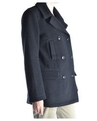 Alexander Wang - Women's Black Wool Coat - Lyst