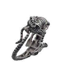 Ametallo - Metallic Siberiano Stainless Steel Bracelet for Men - Lyst