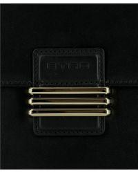 Etro - Women's Black Leather Shoulder Bag - Lyst