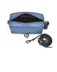 Rebecca Minkoff - Women's Blue Leather Shoulder Bag - Lyst