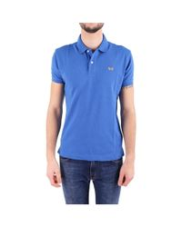 La Martina - Men's Blue Cotton Polo Shirt for Men - Lyst