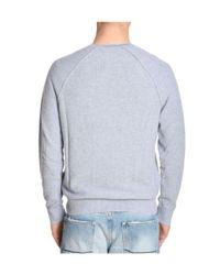 Michael Kors - Gray Men's Grey Cotton Sweatshirt for Men - Lyst