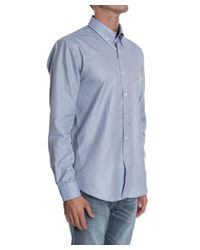 Etro | Men's Light Blue Cotton Shirt for Men | Lyst