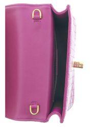 Roberto Cavalli - Fqb927 Pn462 2125 Hot Pink Shoulder Bag - Lyst
