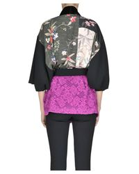 Pinko - Women's Multicolor Other Materials Jacket - Lyst