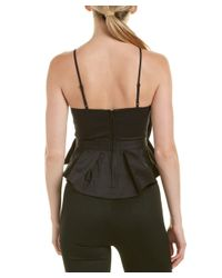 C/meo Collective | Black Collective Little World Peplum Top | Lyst