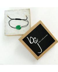 Blue Candy Jewelry | Green Quartz On Cord | Lyst
