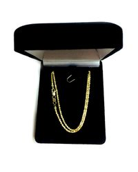 JewelryAffairs - 14k Yellow Gold Sparkle Chain Necklace, 1.5mm, 20 Inch - Lyst