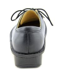 Alegria - Bree Women Round Toe Leather Black Oxford - Lyst