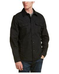 Victorinox - Black Swiss Army Draftsman Shirt Jacket for Men - Lyst