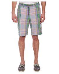 Tailor Vintage - Multicolor Reversible Short for Men - Lyst