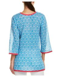 Sulu Collection - Blue Tunic - Lyst