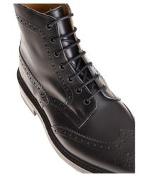 Tricker's - Men's Black Leather Ankle Boots for Men - Lyst