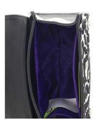 Versace - Ee1vobbu2 Em10 Black Top Handle/crossbody Bag - Lyst