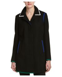 Anne Klein - Black Coat - Lyst