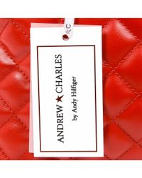 Andrew Charles by Andy Hilfiger - Andrew Charles Womens Handbag Red Hope - Lyst