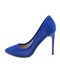 French Connection | Blue Monet Bin Women Peep-toe Synthetic Heels | Lyst