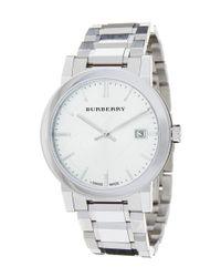 Burberry | Metallic Men's Swiss Watch for Men | Lyst