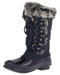 Khombu - Blue Women's Bryce Snow Boot - Lyst