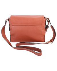 Liu Jo - Women's Brown Leather Shoulder Bag - Lyst