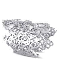 Julianna B - Metallic 3/8 Ct Diamond Tw Fashion Ring - Lyst