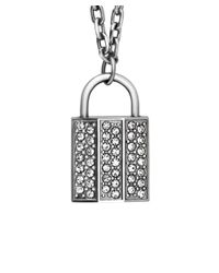 Swarovski - Multicolor Crystal Rock Plated Necklace & Bracelet Set - Lyst