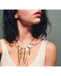 Love Leather - Multicolor Liquid Disco Necklace - Lyst