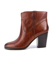 Frye - Myra Bootie Women Us 8.5 Brown Ankle Boot - Lyst