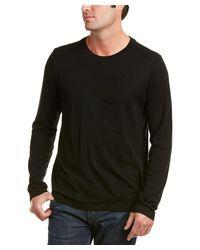 J Brand | Black Zeta Wool-blend Top for Men | Lyst