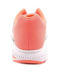 Nike - Zoom Winflo 2 Women Round Toe Synthetic Gray Running Shoe - Lyst