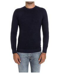 Paolo Pecora - Men's Blue Wool Sweater for Men - Lyst