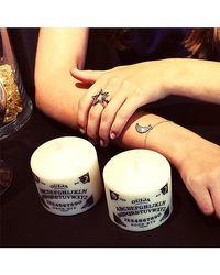 Adornia - Metallic Champagne Diamond And Sterling Silver Luna Moon Bracelet - Lyst
