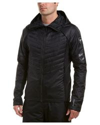 Rossignol - Black Course Hood Light Insulator Jacket for Men - Lyst