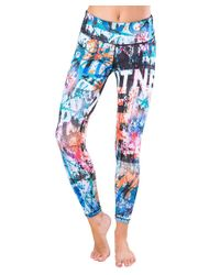 Activefit - Multicolor Legging Street Art - Lyst
