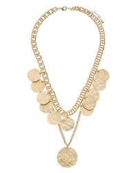 Kenneth Jay Lane - Metallic Plated Necklace - Lyst