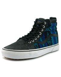 eef7a56c35 Lyst - Vans Sk8-hi Mte Round Toe Leather Sneakers in Blue for Men