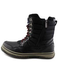 Pajar - Black Tal Round Toe Leather Snow Boot for Men - Lyst