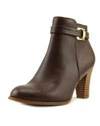 Giani Bernini - Brown Womens Baari Leather Closed Toe Ankle Fashion Boots - Lyst