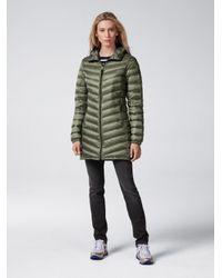 Bogner - Green Lightweight Down Coat Aime - Lyst