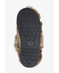 Bogner - Cervinia Rabbit Fur Snow Boots In Pale Brown - Lyst