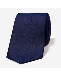 Bonobos - Blue Linen Necktie for Men - Lyst