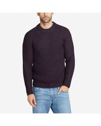 Bonobos - Blue Alpaca Blend Fisherman Crew for Men - Lyst